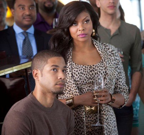"Image of Taraji P. Henson and Jussie Smollett in ""Empire."" (Credit Chuck Hodes/Fox)"