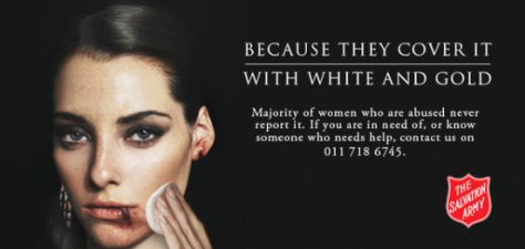 """This image of a different woman applying """"white and gold"""" make-up on her face was posted Thursday with the question: Why is it so hard to see black&blue?"""