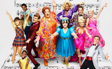 "The cast of 'Hairspray Live!"" NBC will air the event beginning at 7:30 with a ""pre-game"" show hosted by Darren Criss followed by the musical at 8 p.m. (PHOTO: NBC)"